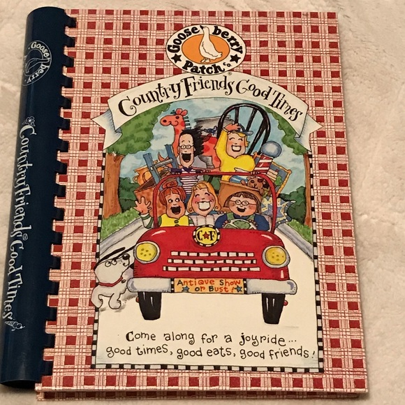 Gooseberry Patch Other - Gooseberry Patch Country Friends Good Times Book